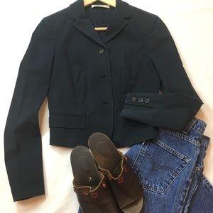 Vintage Prada Cropped Cotton Blazer